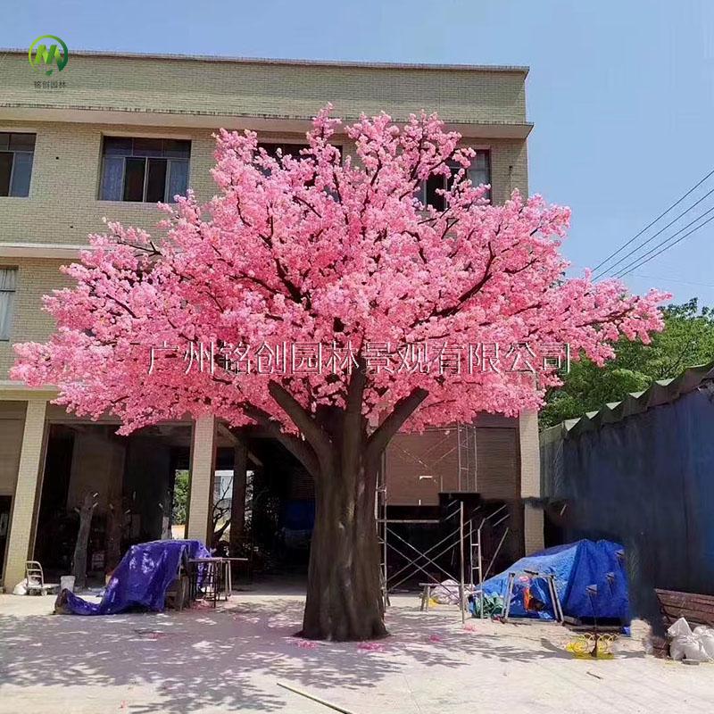 大型仿真樱花树