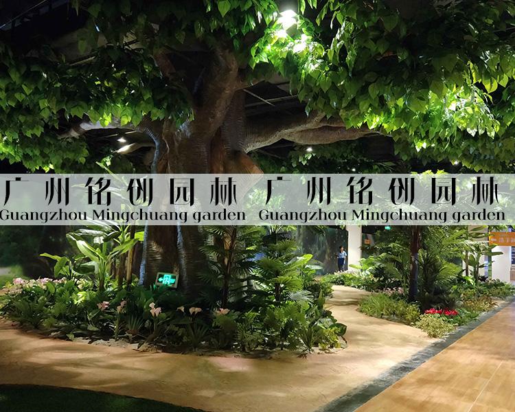 title='佛山ICC正佳广场热带雨林造景'