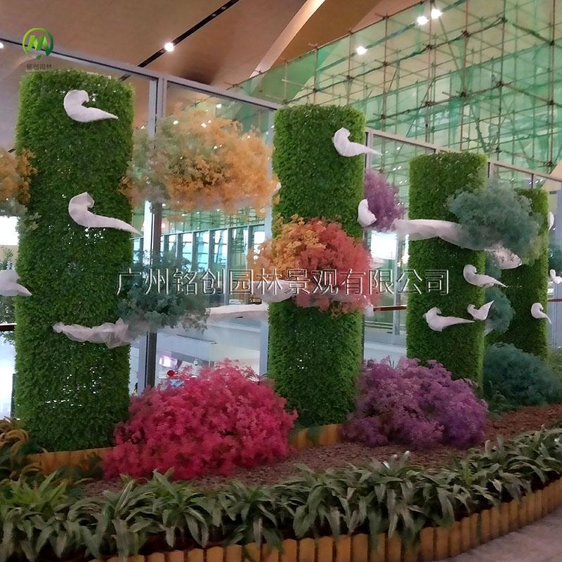 上海机场绿雕